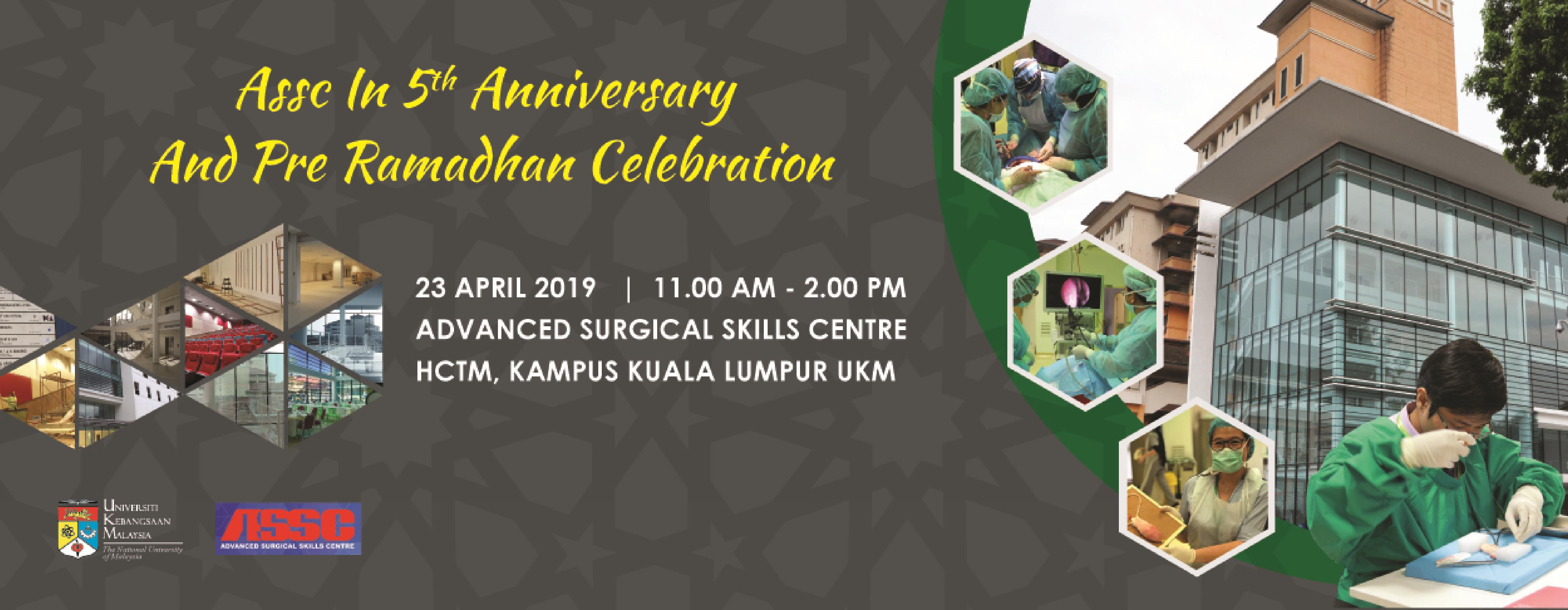 ASSC IN 5th ANNIVERSARY AND PRE-RAMADHAN CELEBRATION