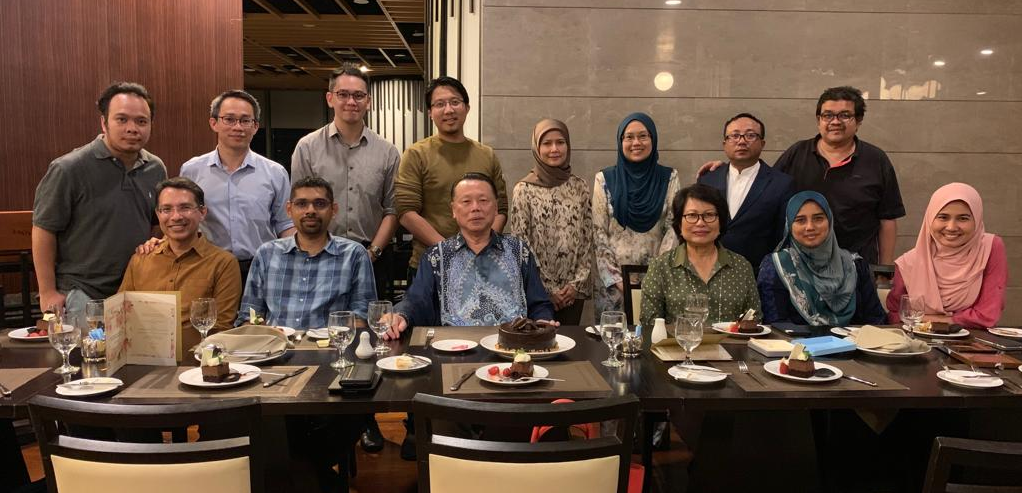 Dinner with Prof. Izham Cheong, External Examiner MMed 2019's Examination, Department Of Internal Medicine