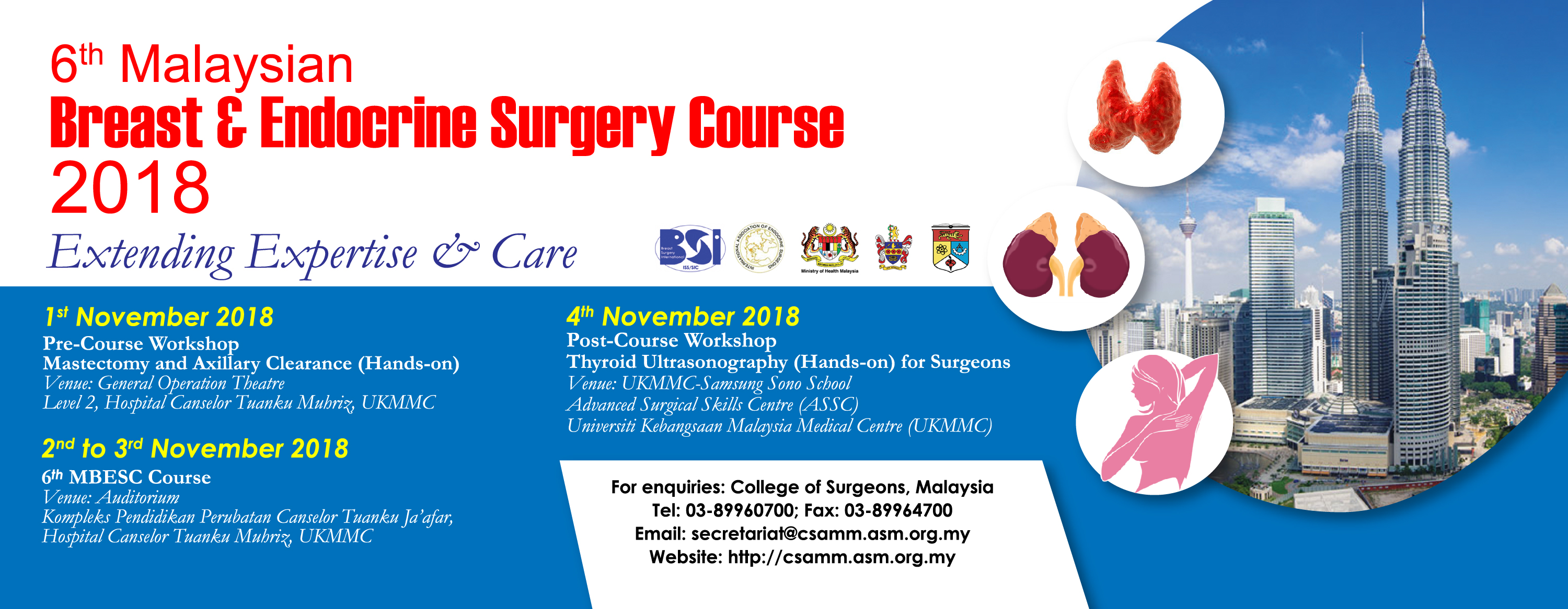 6th Malaysian Breast & Endocrine Surgery Course